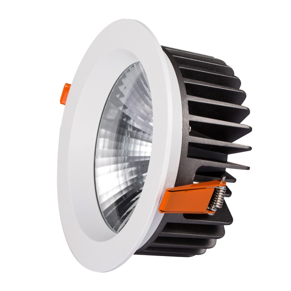 Citizen COB LEDs as light source, 150lm/W@CRI80 DALI/TRIAC/0/1-10V/DMX/ZIGBEE/RF dimmable, ADC12 die cast aluminum as body materials, 5 years warranty