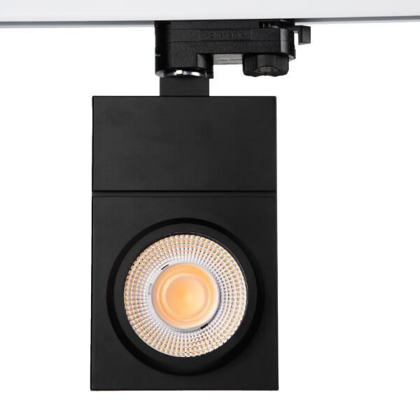 30w ultra thin led tracklight, tridonic LED driver, flicker free, Citizen COB LEDs, 110lm/W 2CRI80 4000K, UGR<19 @15,24degree, 5 years warranty