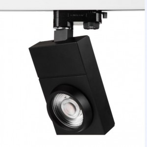 30W ultra thin square led track light