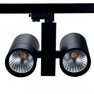 N Series double head LED Track Light 40-100W