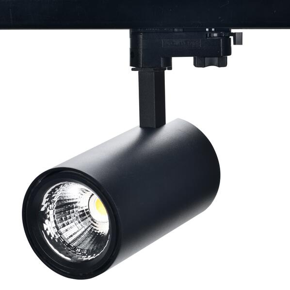 2.4G tunable white LED tracklight, built in driver, 3 phase track adapter