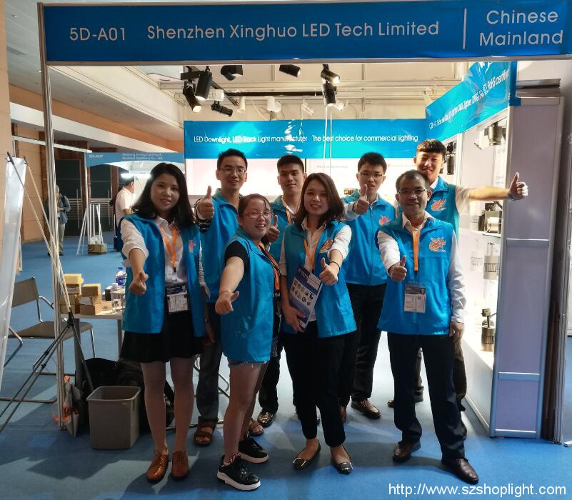 Hong Kong International Autumn lighting fair successfully ended