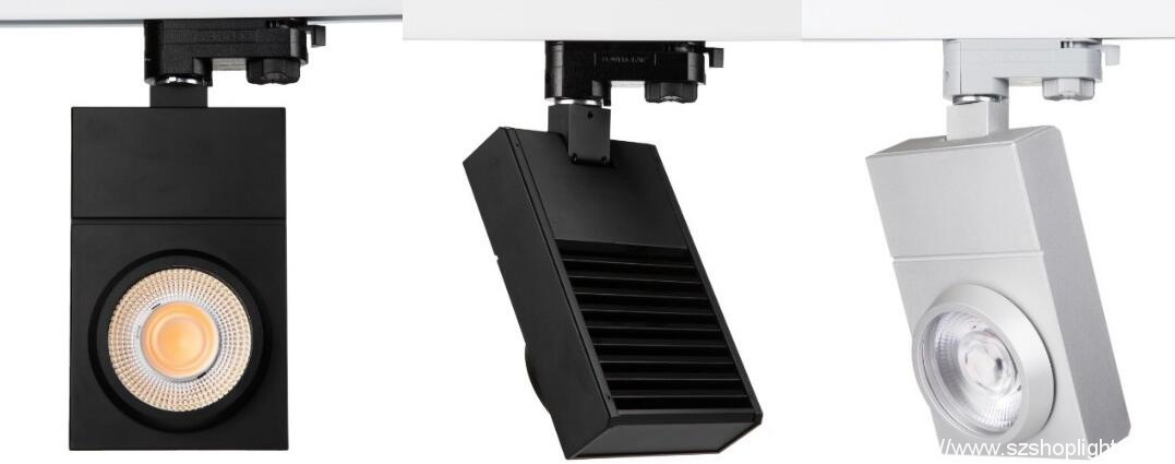 Ultra thin square led track lights come to marekts