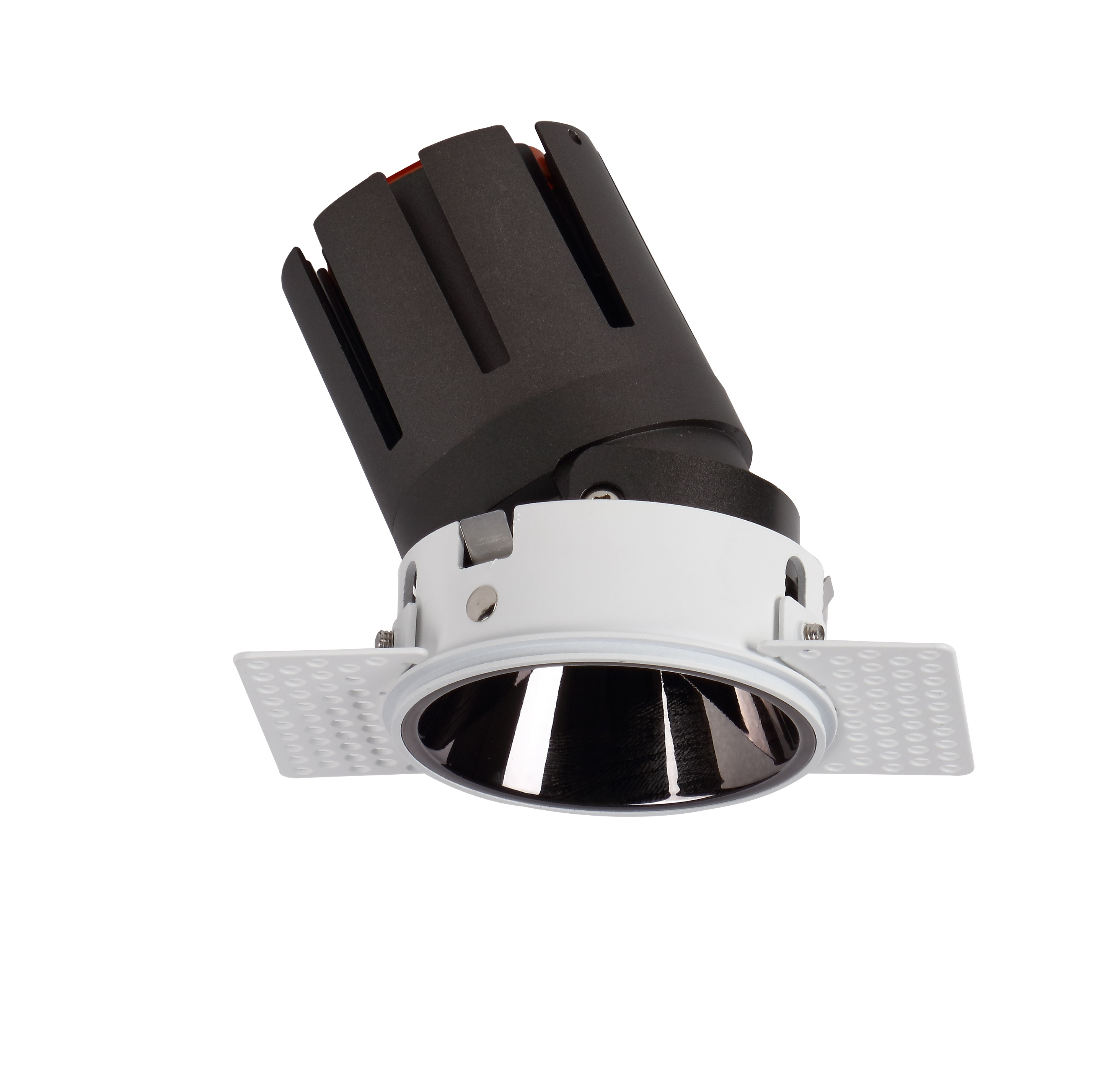Trimless wall wash LED downlight