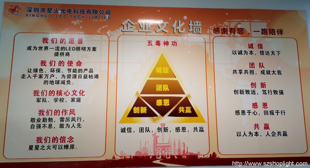 Xinghuo company Culture