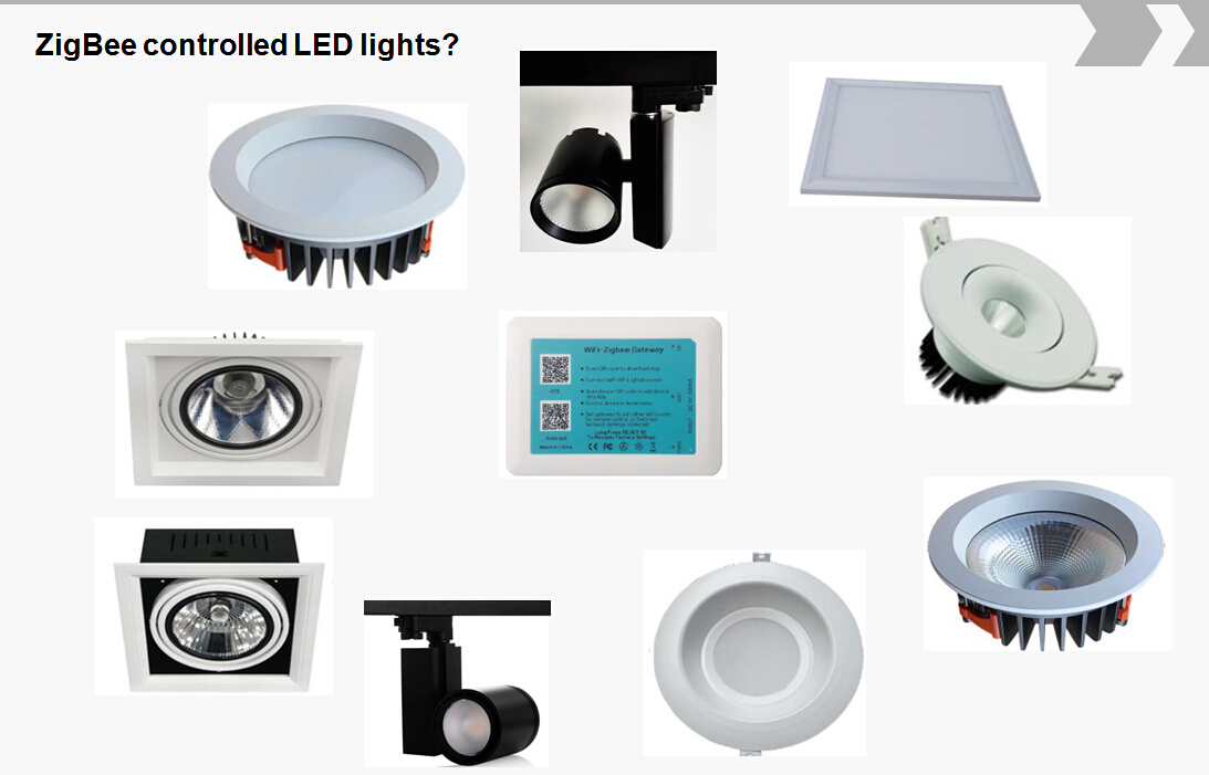 ZigBee smart LED light