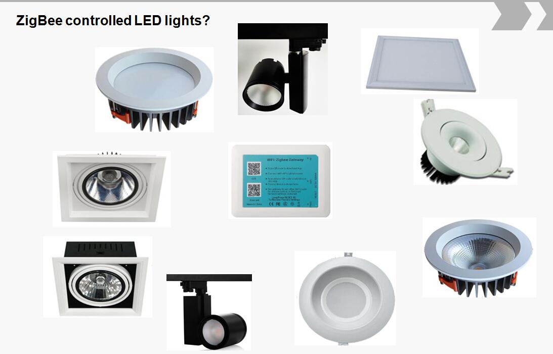 ZigBee smart LED light