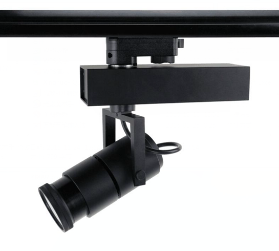 Movable Led Track Lighting: 25W Beam Angle Adjustable 10-70°LED Track Light
