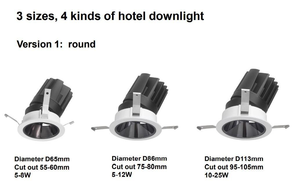 hotel led downlight