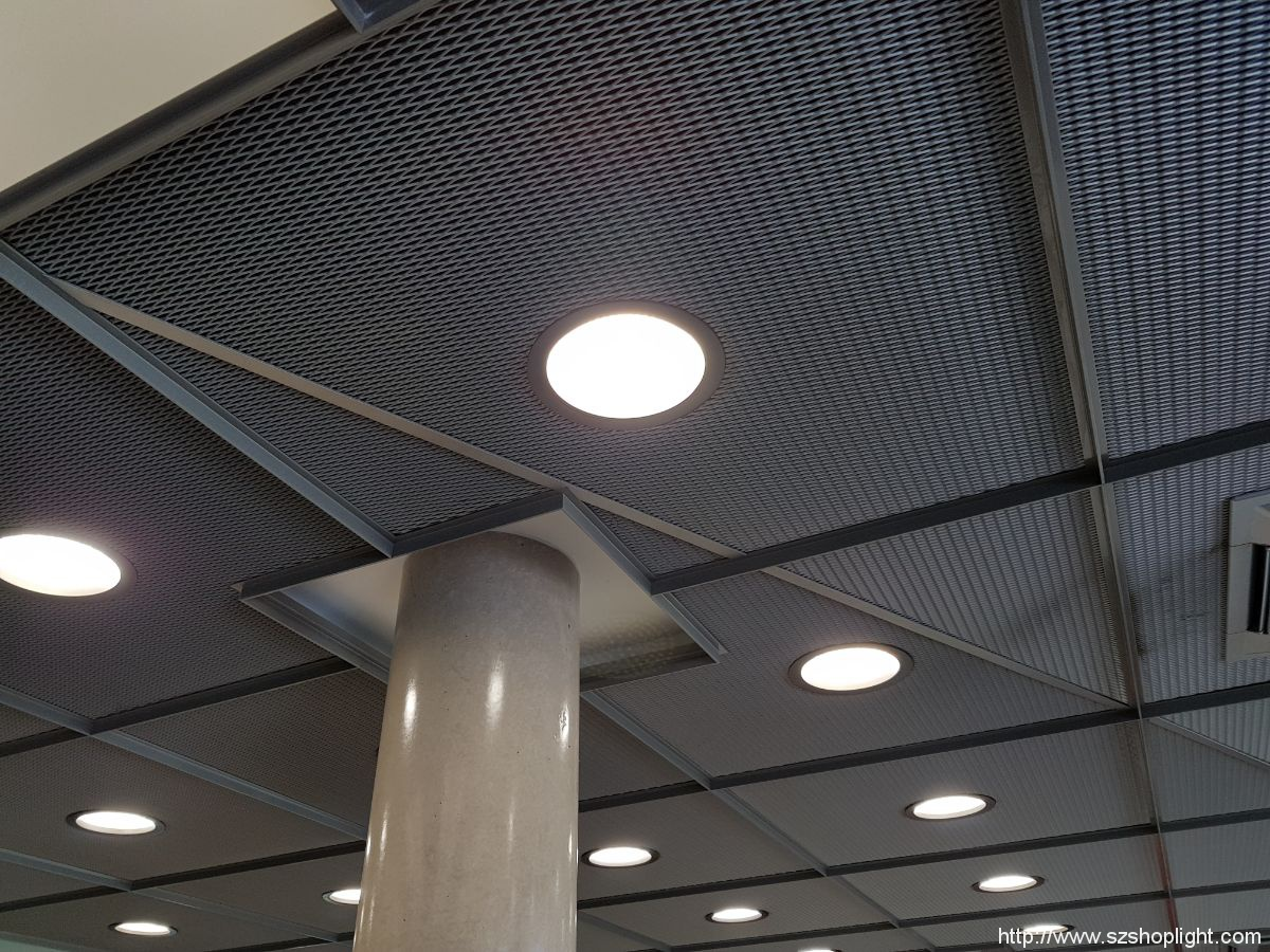 led down light in SPARKASSE Germany