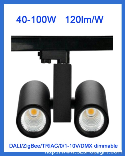 100W LED track lights