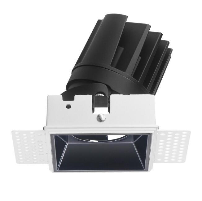 12W square LED wall wash downlight