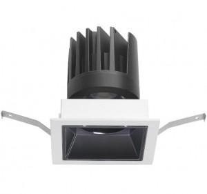 12W square LED downlight