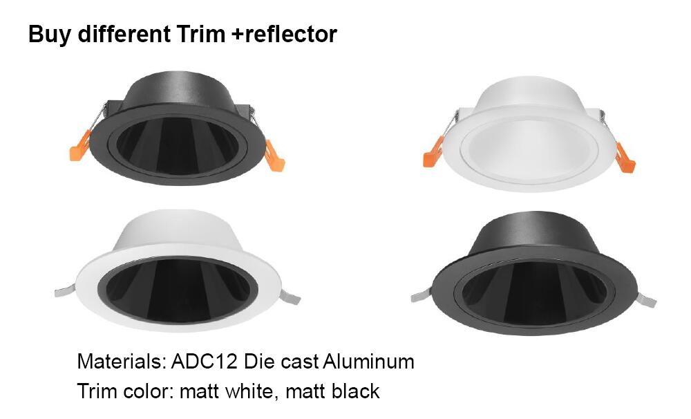 trim+reflector